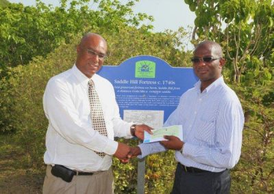 Cheque handing over Ceremony 108