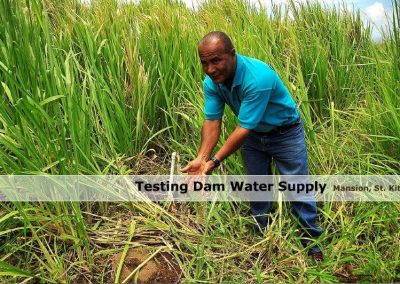 Testing Dam Water Supply - Mansion